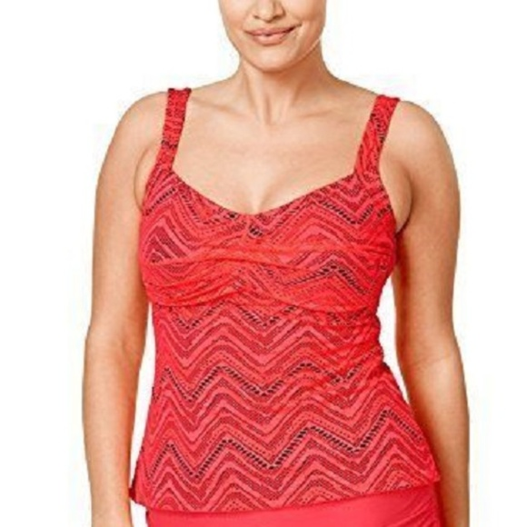 1de34688f4c24 Island Escape Swim   Plus Calypso Crochet Twist Tankini   Poshmark